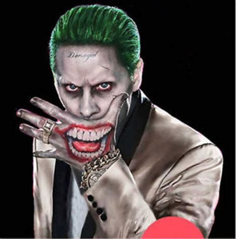 squad harley quinn joker temporary tattoo cosplay
