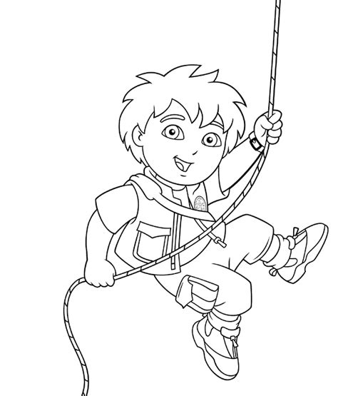 diego coloring pages nick jr diego coloring page az coloring pages