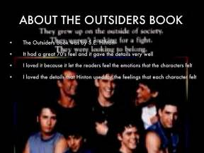 The outsiders book by zoe lane