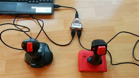 Joystick Usb Single dual joystick usb adapter