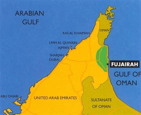 resort fujairah map fujairah