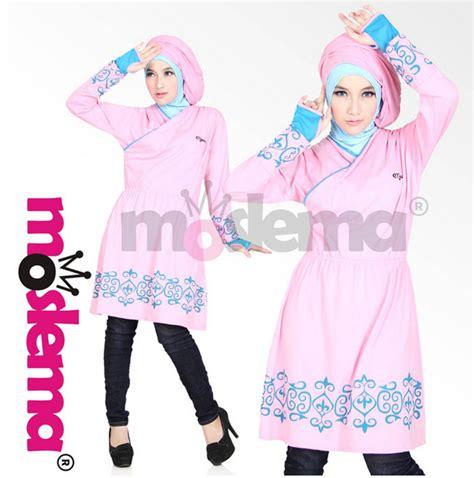 Baju Muslim Wanita Terbaru 2016 model baju muslim wanita bahan kaos terbaru 2016