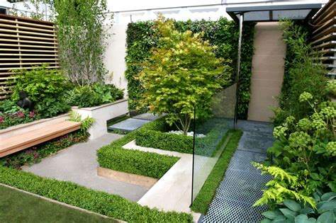 Adorable Small Back Garden Designs And Ideas Camer Design Small Contemporary Garden Ideas