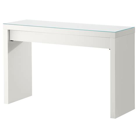 Malm Dressing Table White 120x41 Cm Ikea White Malm Desk