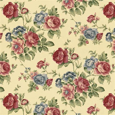 cottage curtain fabric cottage roses 4 curtain fabricsfavorable buying at our shop