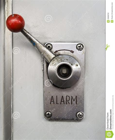 Alarm Emergency alarm lever stock image image of rescue prevention