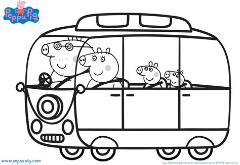 peppa pig car coloring pages coloring pages of granny pig and granpa are two characters