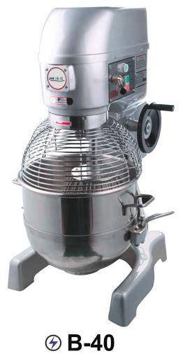 Mixer Besar Untuk Roti planetary mixer kapasitas 40 liter untuk usaha bakery