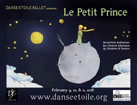 le petit prince 8853620137 le petit prince the little prince broomfield auditorium dance westword the 1