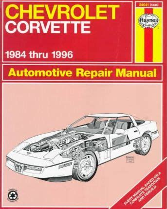 what is the best auto repair manual 1996 nissan 200sx security system chevrolet corvette 1984 1996 automotive repair manual mike stubblefield 9781563922268