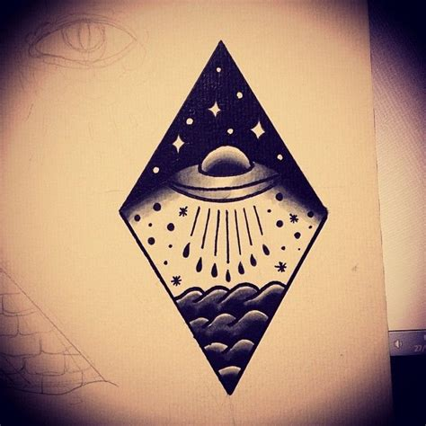 i want a ufo themed tattoo so much tattoos