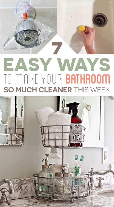 7 bathroom cleaning tips you ll actually want to try thinkhom