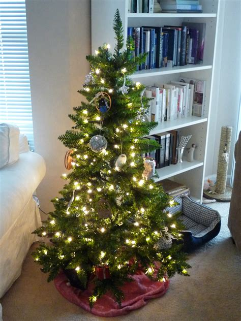 small apartment christmas tree home design
