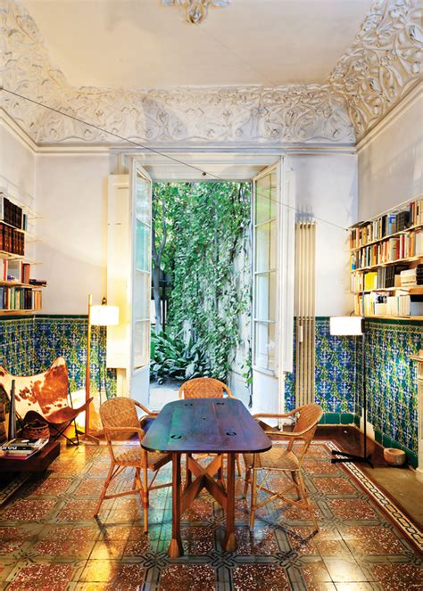home design store barcelona decaying beauty 18th century apartment in barcelona