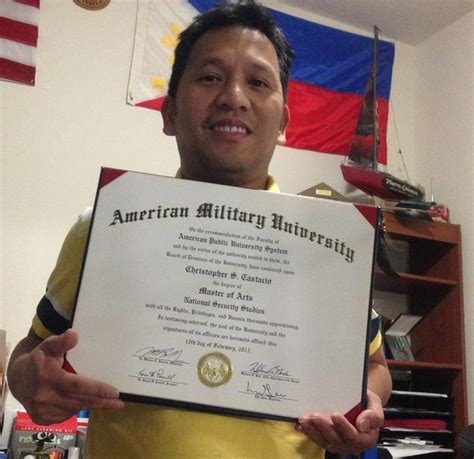 Graduate With Honors Apus Mba by Christopher Castacio Is A Sgt In The Us Army And An Amu