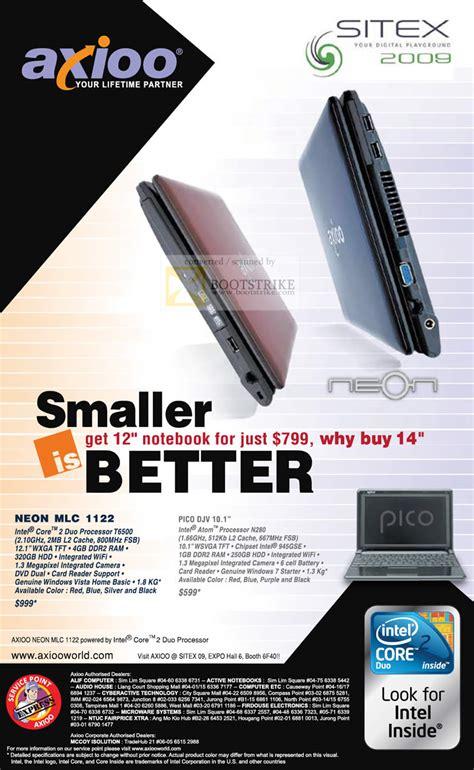 Wifi Card Notebook Axioo Pico Djv axioo notebook neon mlc 1122 pico djv sitex 2009 price