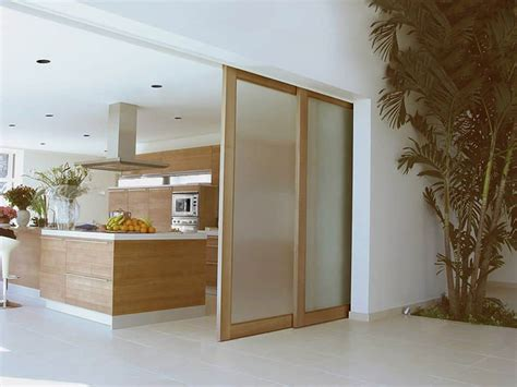 sliding kitchen doors interior frosted glass sliding doors in the kitchen types of sliding doors for your house wearefound