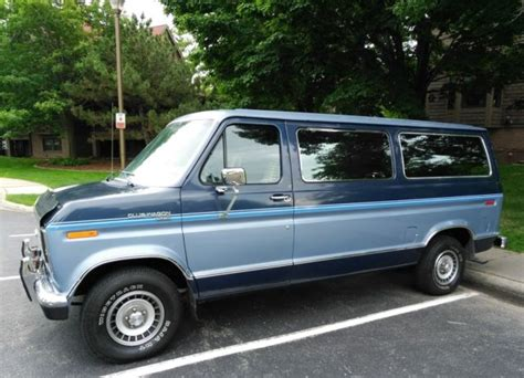 automobile air conditioning service 1994 ford club wagon seat position control 1987 ford club wagon passenger van 1 owner only 46 000 mi rust free look no res