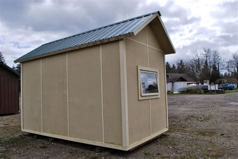 Composite Storage Sheds by Storage Shed Built With Lightweight Insulated Torsion Box