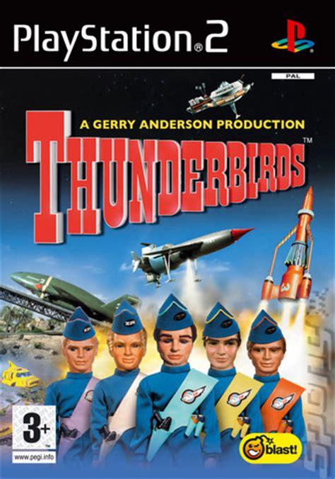 covers & box art: thunderbirds ps2 (1 of 1)