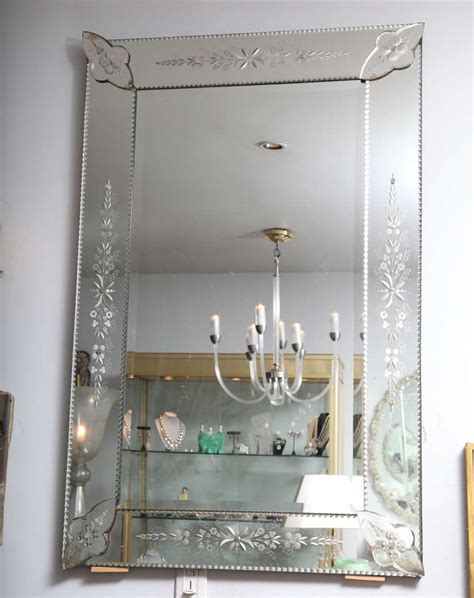 beveled glass mirrors bathroom french etched and beveled mirror home furniture