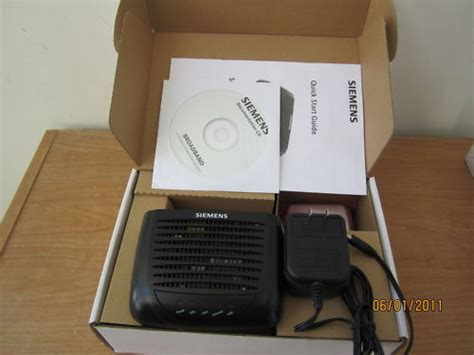 Modem Adsl Siemens siemens cl 110 adsl2 dsl modem for at t verizon with usa