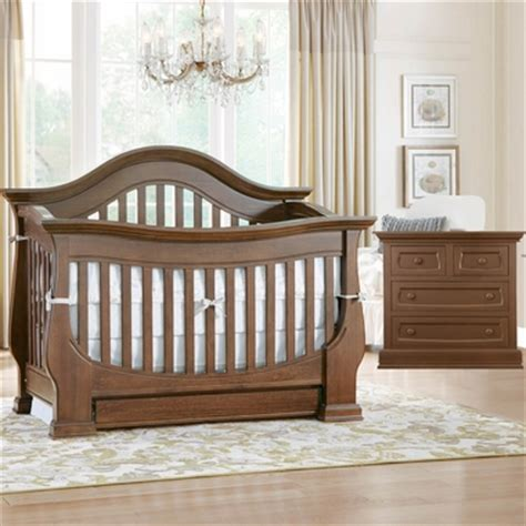 Baby Appleseed Crib Baby Appleseed 2 Nursery Set Davenport Convertible Crib And 4 Drawer Dresser In Coco