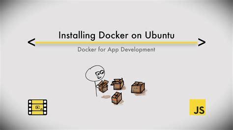 how to install docker ubuntu install docker for ubuntu 16 04 youtube