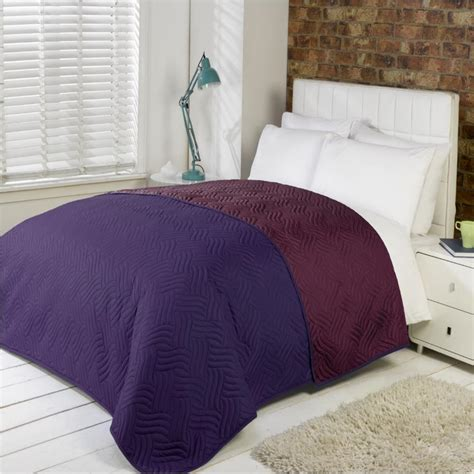 Bedspread Size Soft Quilted Comforter Microfibre Throw Bedspread Bedding