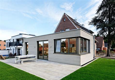 Moderner Anbau An Altes Haus 4956 by Moderner Kubus In Holzmassivbauweise Kommunikation2b