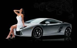 Lamborghini With Strut Lamborghini Gallardo With