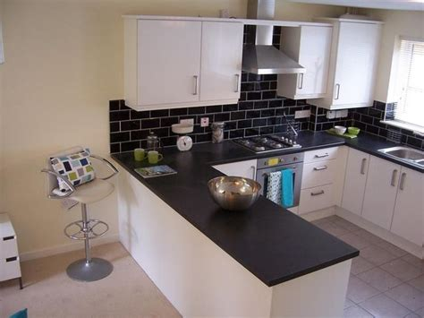 Black And White Tile Kitchen Ideas Brick Effect Tile Display Ideas For The House Rehab Kitchens And Bricks