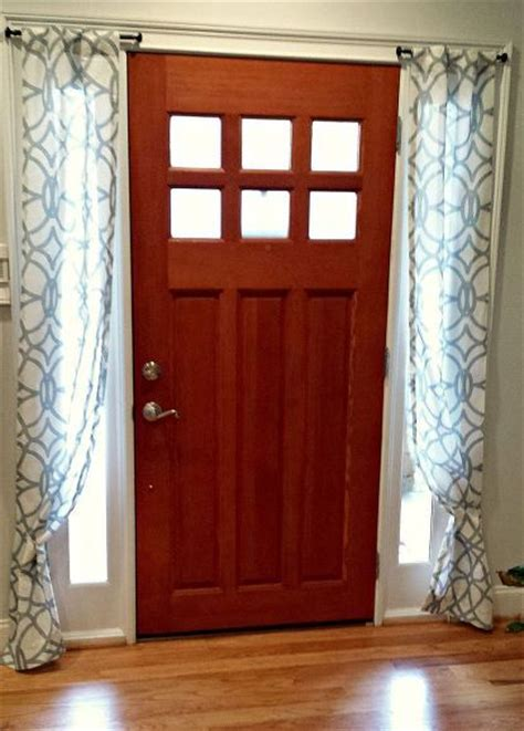 Curtains For Front Door Window Best 25 Door Window Curtains Ideas On Slider Door Curtains Slider Curtains And