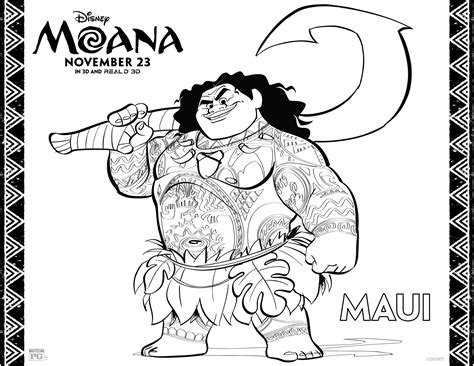 10 images about disney coloring pages on pinterest free printable moana coloring pages activity sheets for