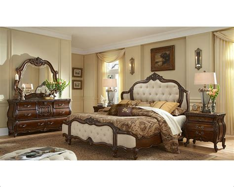 upholstered headboard bedroom sets aico bedroom set upholstered headboard lavelle melange ai
