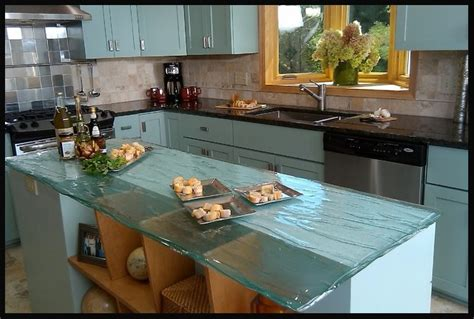glass kitchen countertops 10 most popular kitchen countertops