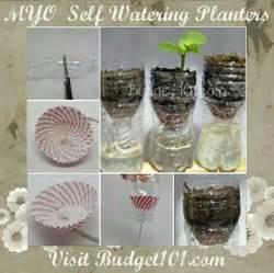 Diy Self Watering Planters Diy Ideas Crafts And Diy Self Watering Planter