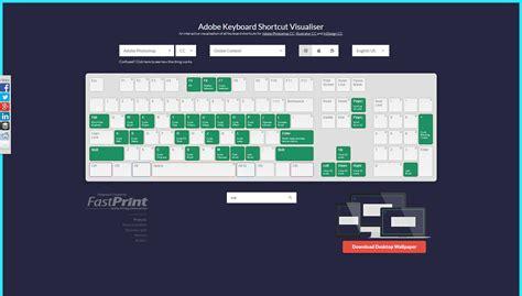 keyboard visualizer tutorial adobe photoshop keyboard shortcut visualizer
