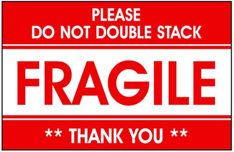 Packing Plastik Stiker Fragile photo of packing glass fragile shipping labels