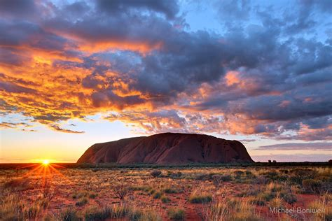 Australian Duvet Covers Quot Ayers Rock Uluru Sunrise Australia Quot By Michael