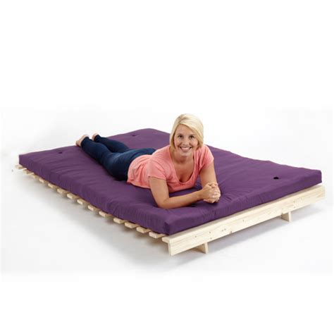 4 Foot Wide Futon Purple 4ft 6 Quot Children S Futon Wooden Sofa Bed