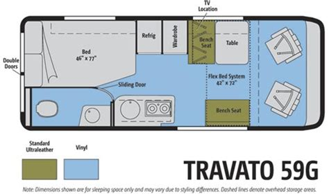 Class B Floor Plans winnebago travato mpg autos post