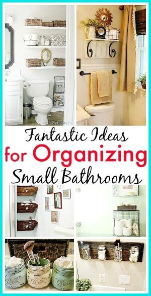 11 fantastic small bathroom organizing ideas fantastic for small areas loving you can hide the clutter
