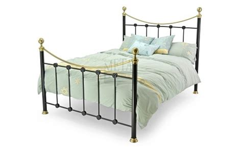 Metal Beds Oxford 4ft 120cm Small Double Black Bed Frame 120cm Bed Frame
