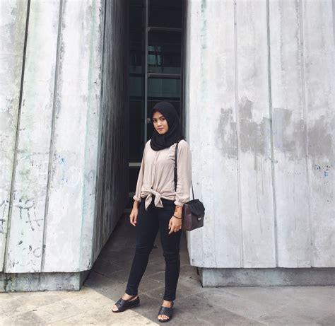 fashion hijab ootd simple tutorial hijab terbaru