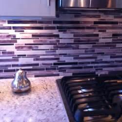 purple back splash for kitchen home where heart pinte and brown with iridescent backsplash make room