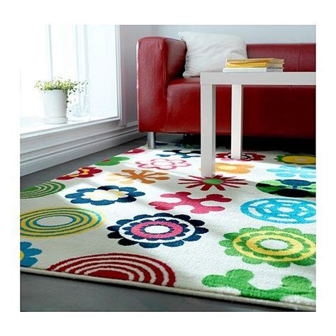 playroom rugs ikea lusy blom rug low pile ikea the polypropylene fibers have