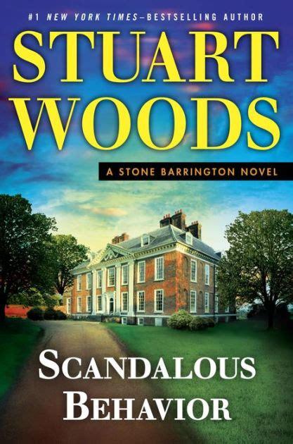 scandalous behavior stone barrington series