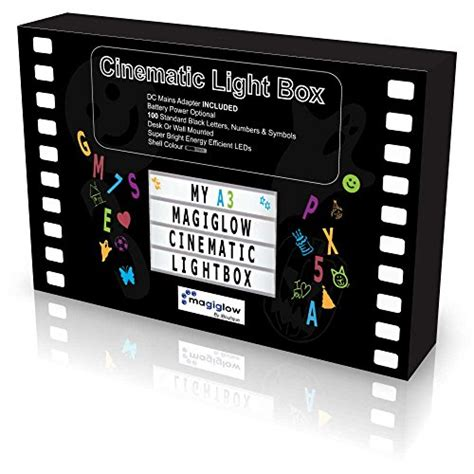 magiglow a4 cinematic light up your letter box