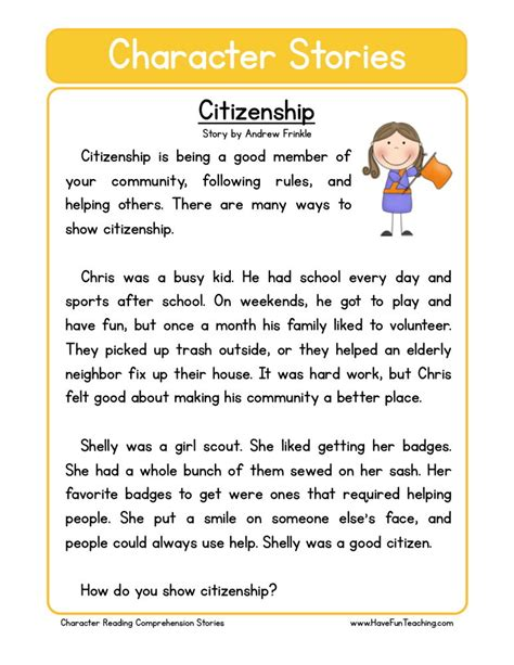 Citizenship Worksheets by Citizenship Worksheets Lesupercoin Printables Worksheets